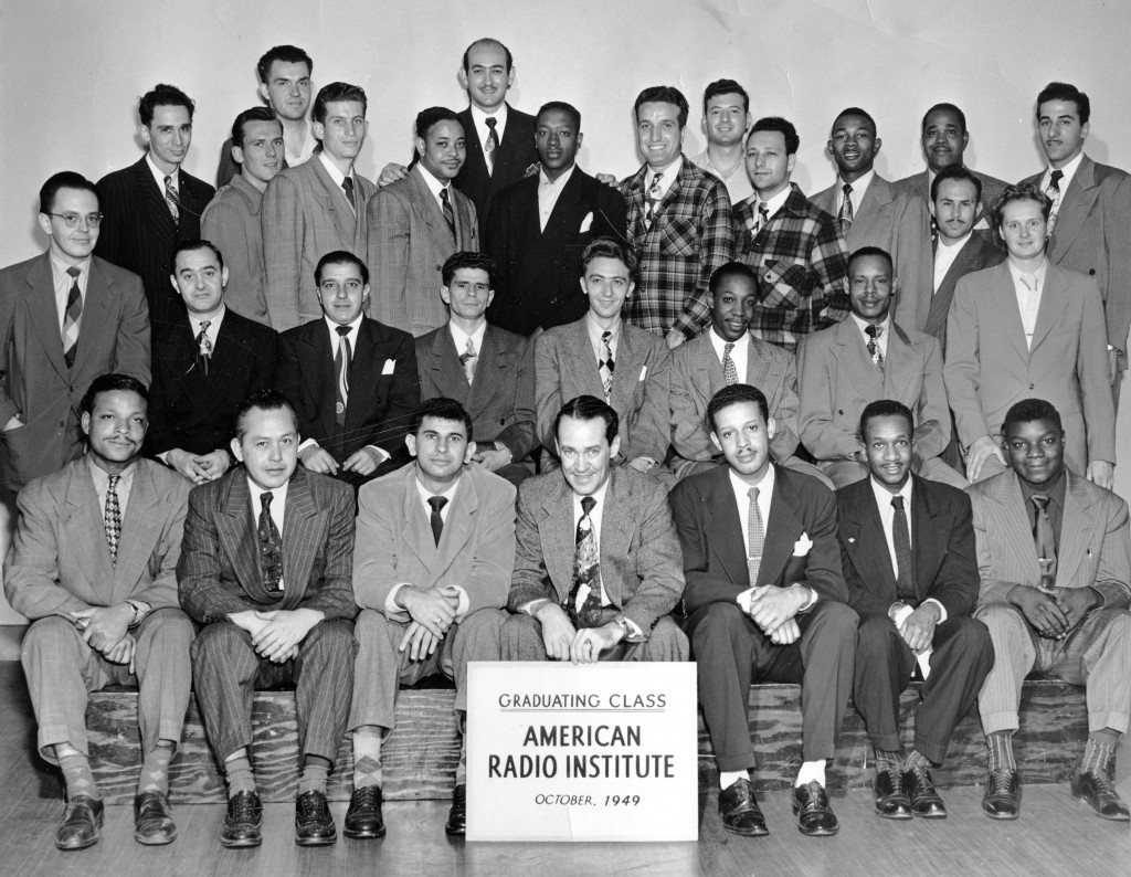 American Radio Institute Graduating Class 10-1949